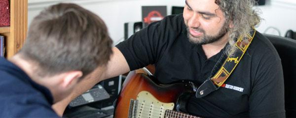 guitar teachers london
