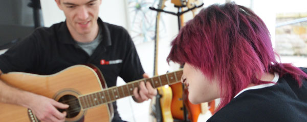 Guitar lessons Cardiff