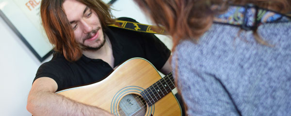 guitar lessons for beginners Berlin