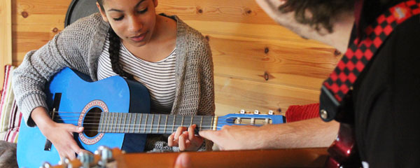Guitar lessons Leicester