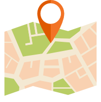 Locations of our guitar lessons in Edinburgh